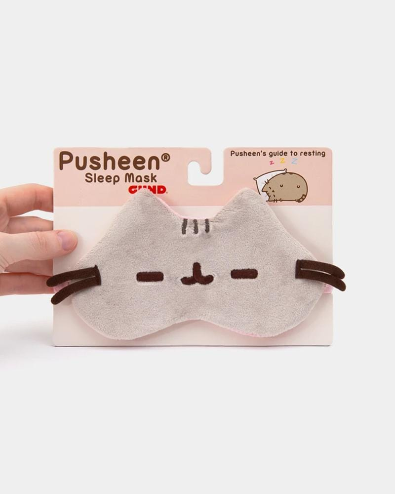 PUSHEEN Plush Sleep Mask
