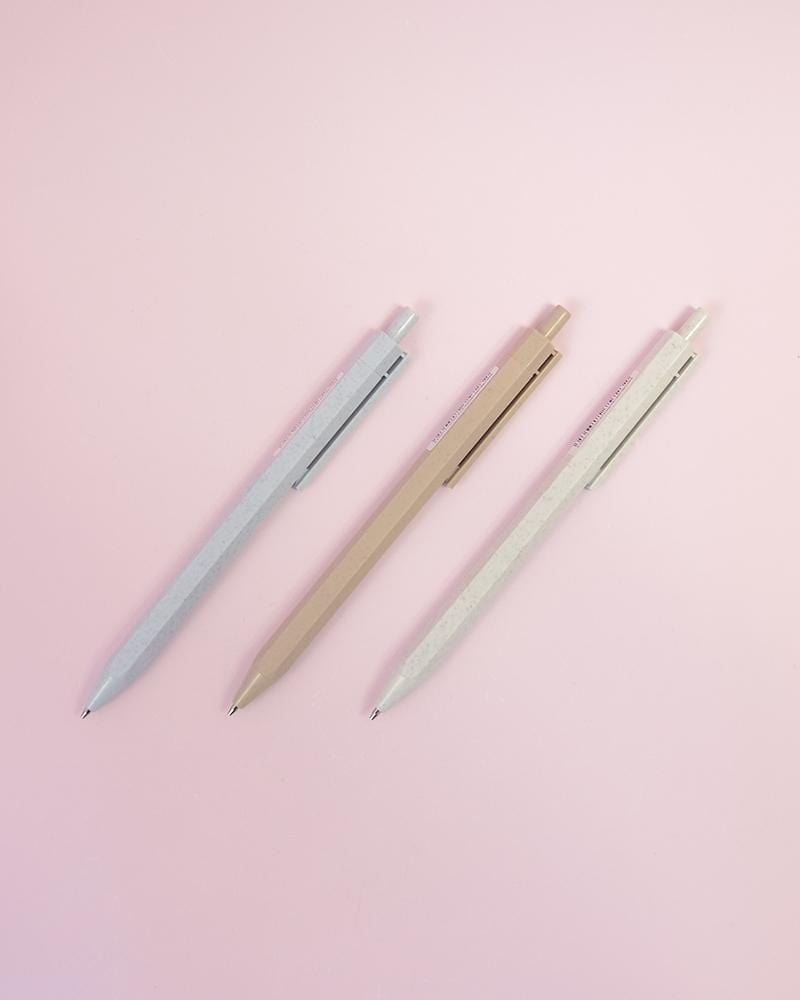 Recycled Plastic & Wheat Straw Pastel Lead Pencil