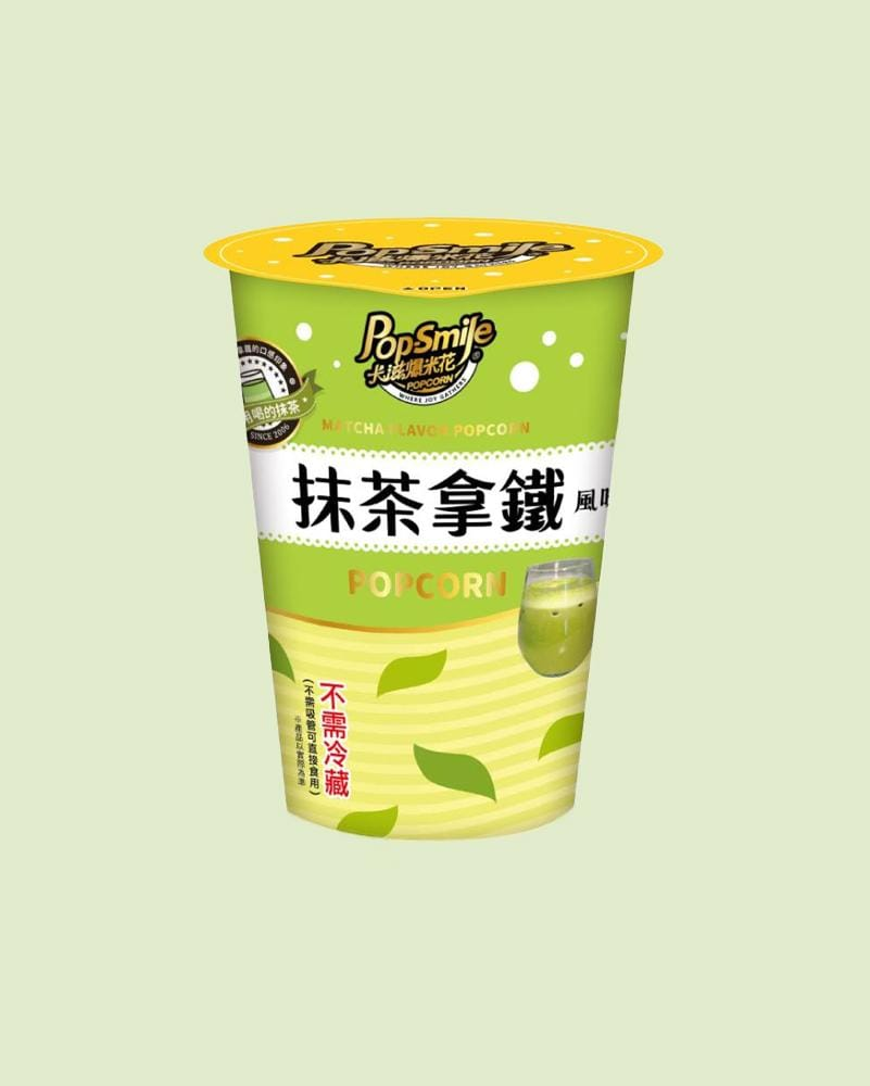 Shop Pop-Smile Matcha Latte Popcorn