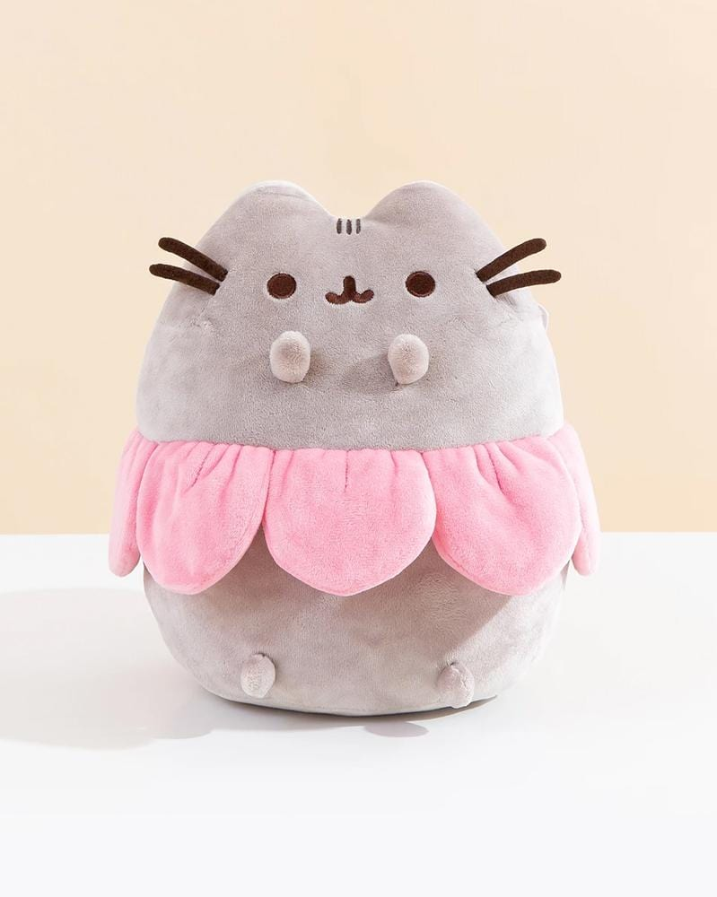 Pusheen Flower Petal Plush 9.5""