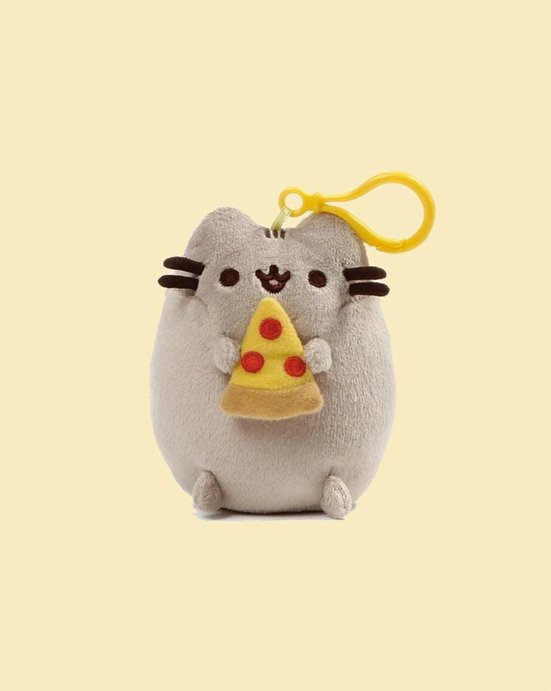 PUSHEEN© Pizza Backpack Clip