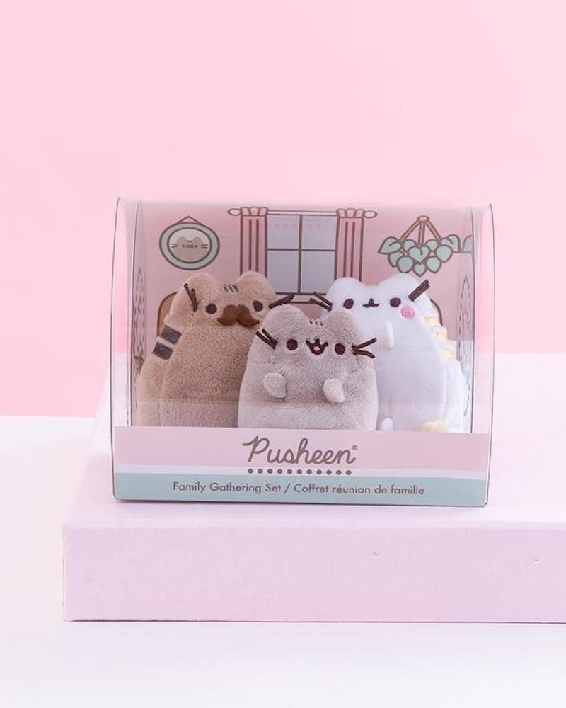 PUSHEEN© Pusheen Family Gathering Plush Figurine Set