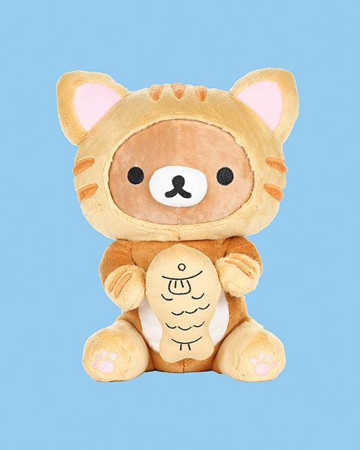 Rilakkuma© Tiger with Taiyaki Fish 13""