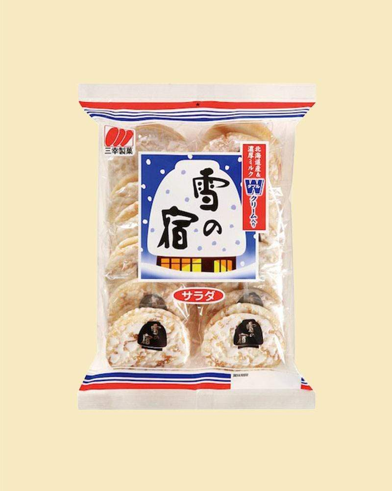 Buy the Sanko Yuki no Yado Frosted Rice Crackers