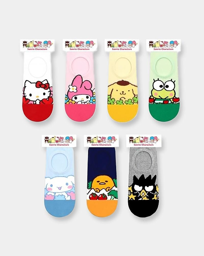 Sanrio Favourite Characters No-Show Socks
