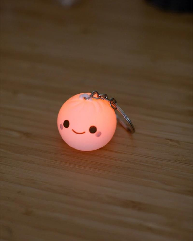 Smoko Lil B Dumpling Light-Up Keychain