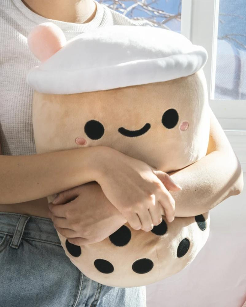 Smoko Pearl Boba Tea Mochi Plush 13""