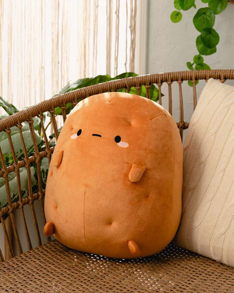 Smoko Tayto Potato Mochi Plush