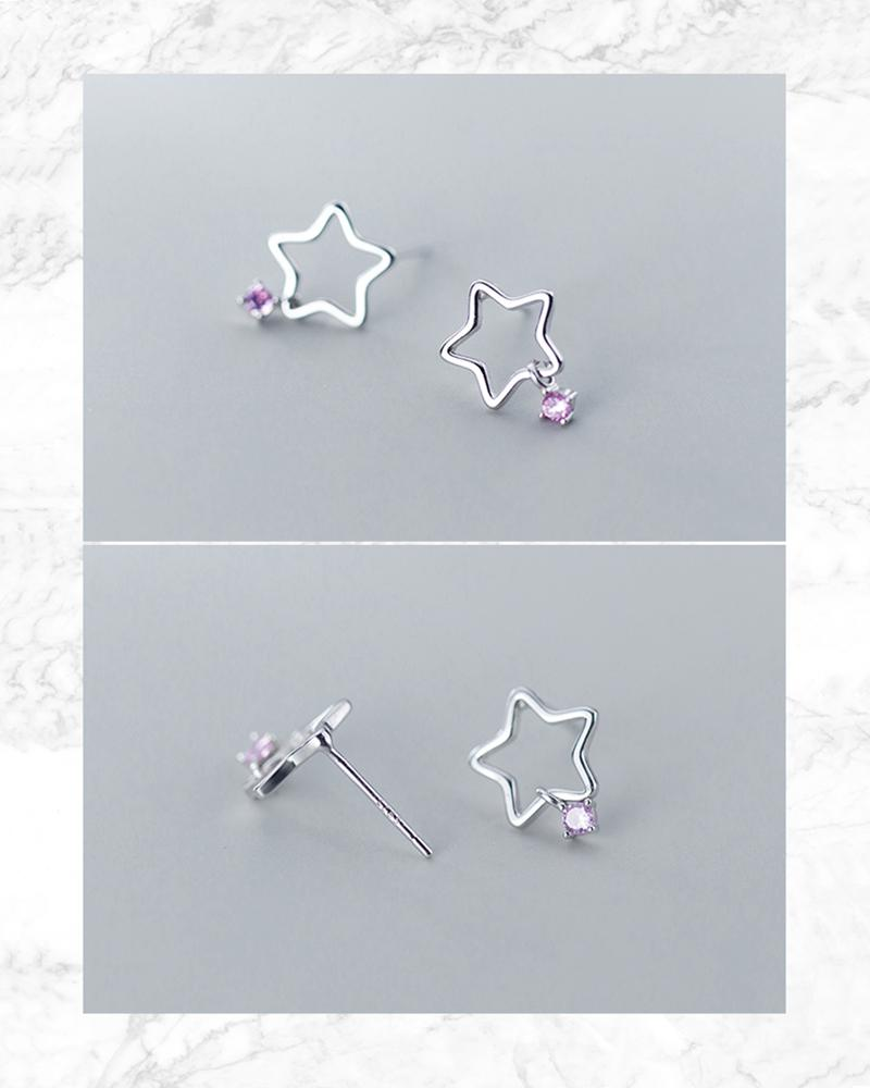 shop sukoshi Starlight Mini Stud Earrings sterling jewelry collection details