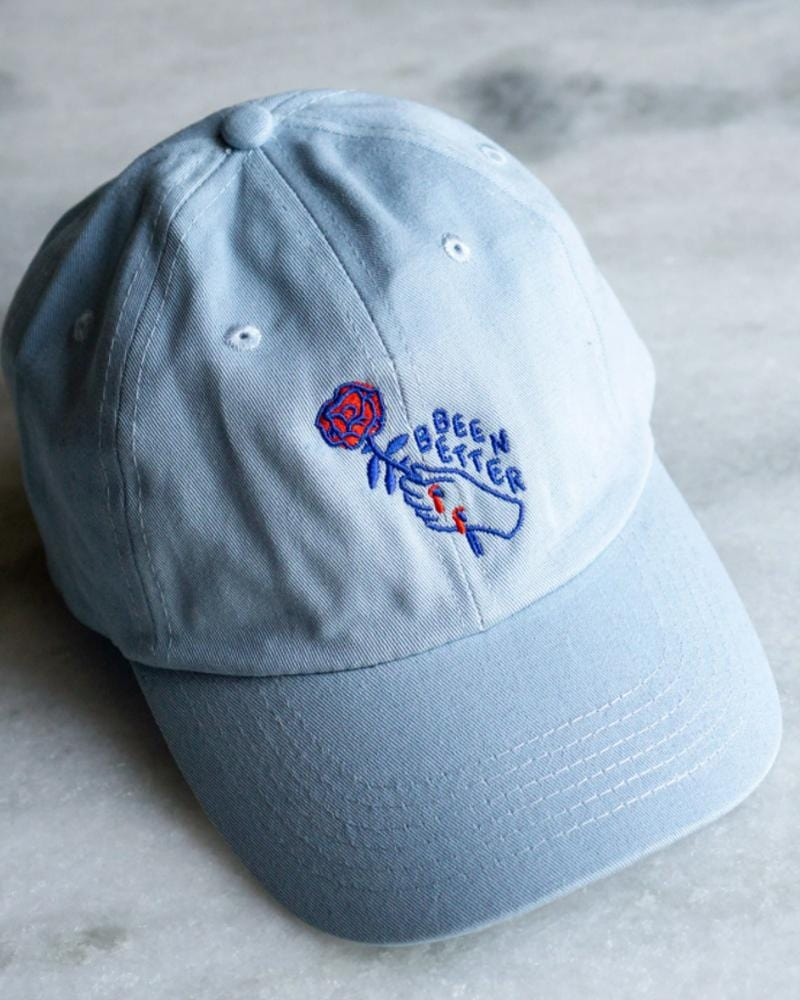 Shop Stay Home Club Been Better (Rose) Dad Hat in Blue