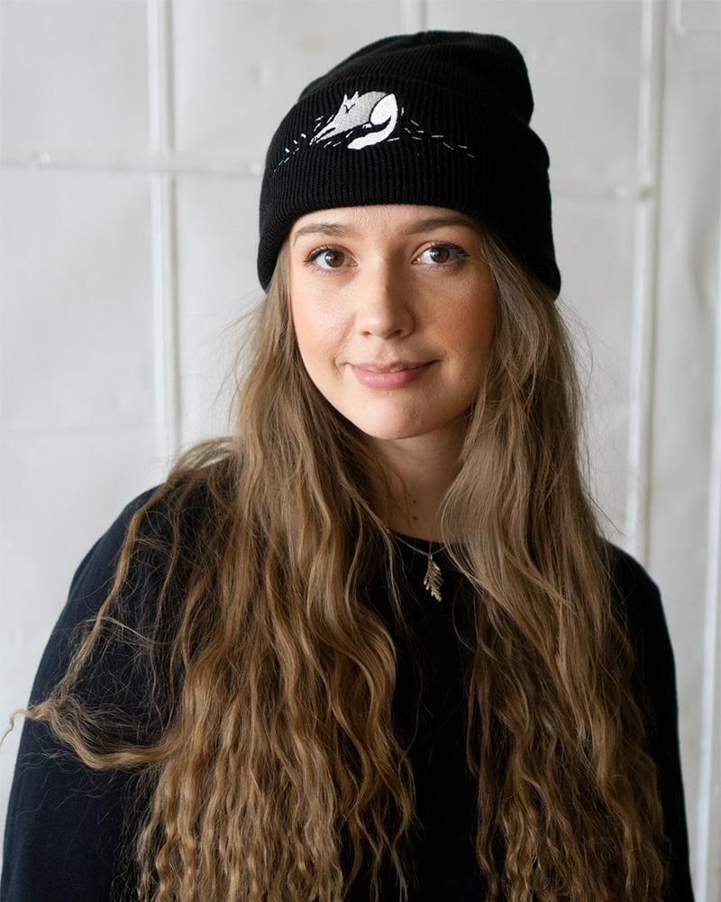 Stay Home Club (Cat) Hair Everywhere Embroidered Beanie