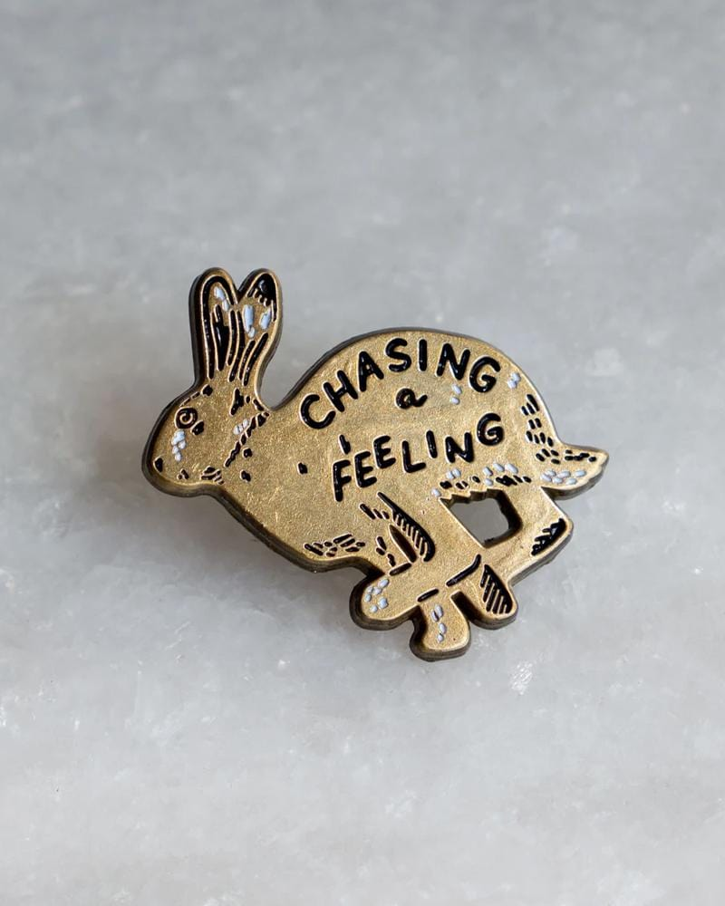 Stay Home Club Chasing a Feeling Lapel Pin