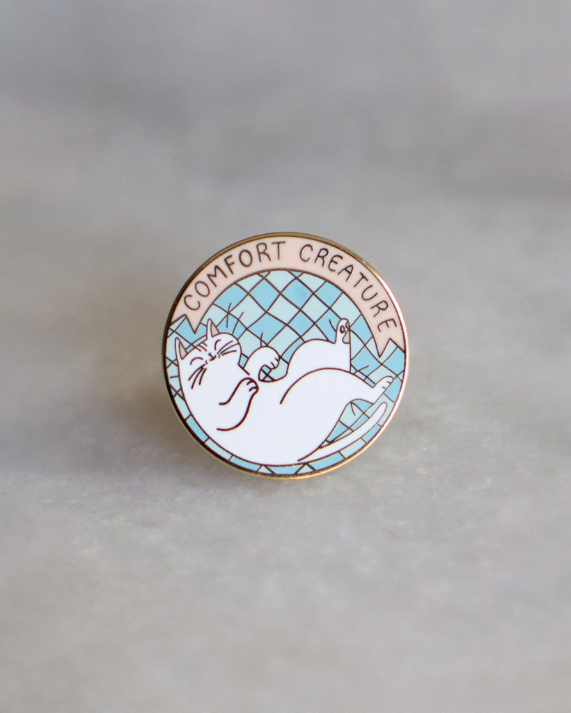 Stay Home Club Comfort Creature Lapel Pin