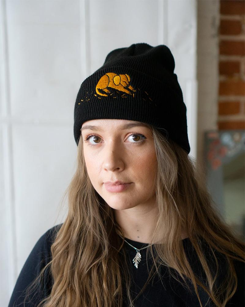 Stay Home Club (Dog) Hair Everywhere Embroidered Beanie
