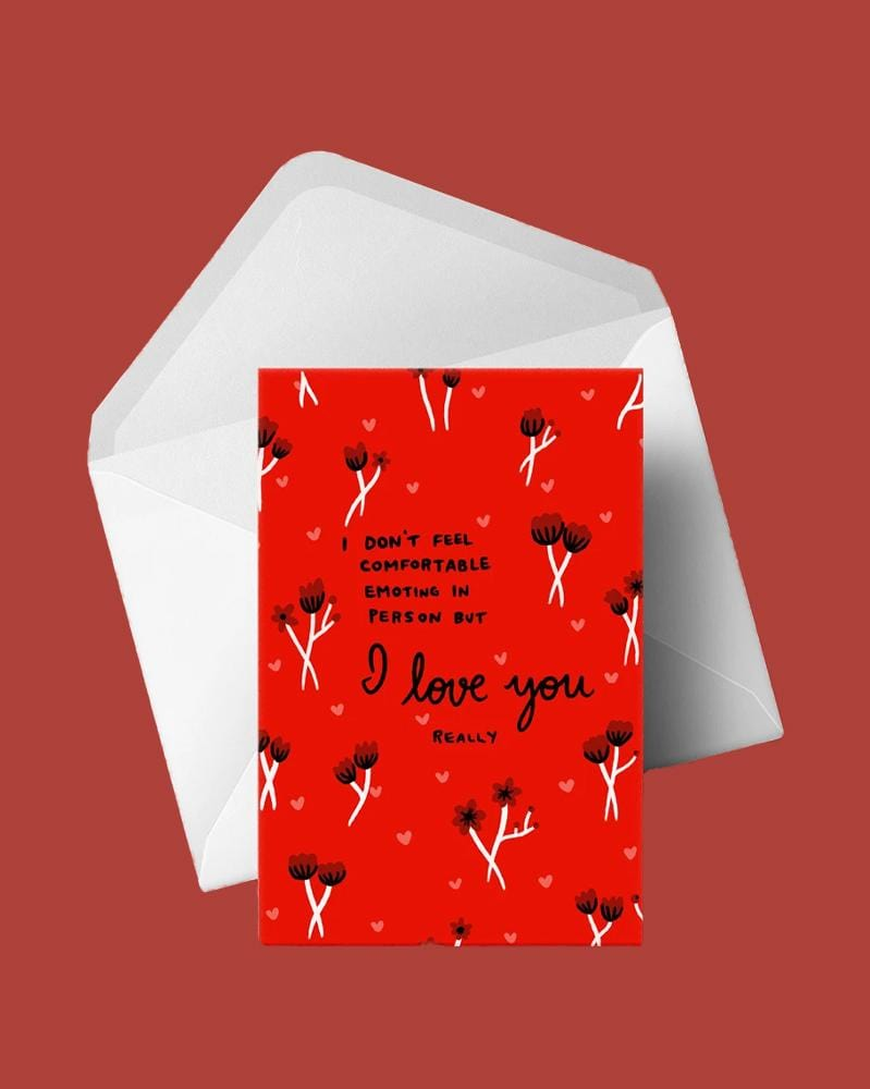 Stay Home Club Greeting Cards I Love You (really)