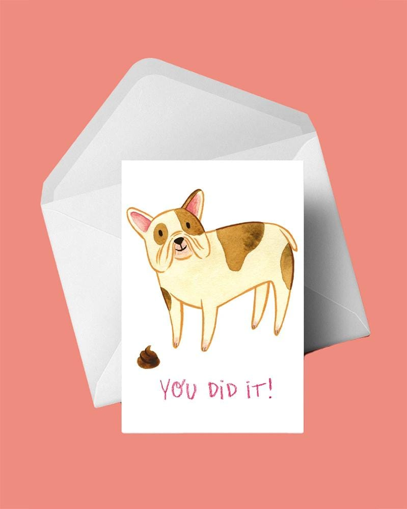 Stay Home Club Greeting Cards You Did It!