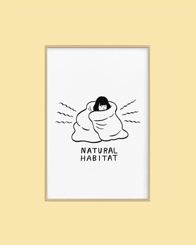 Stay Home Club Print Natural Habitat