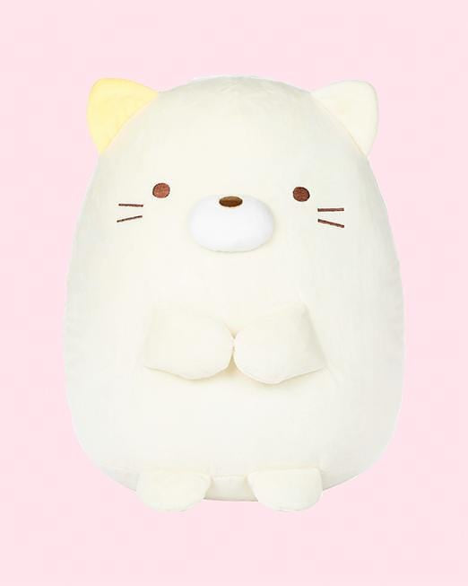 Sumikko Gurashi© Neko White Cat Plush