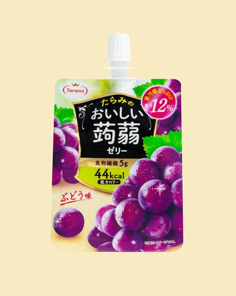 Tarami Grape Konjac Jelly Drink