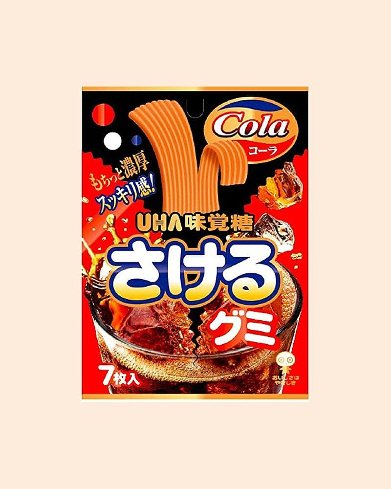 Shop UHA Cola Split Gummy Candy