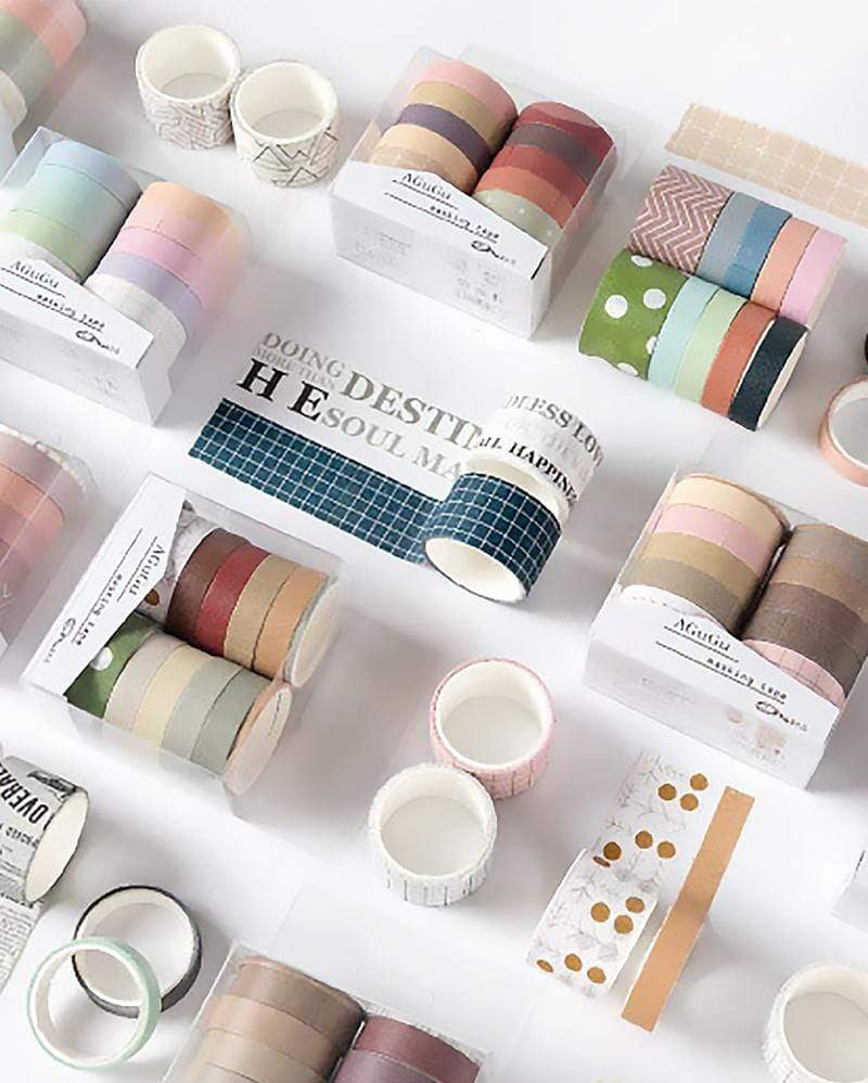 Washi Tape Colour Set