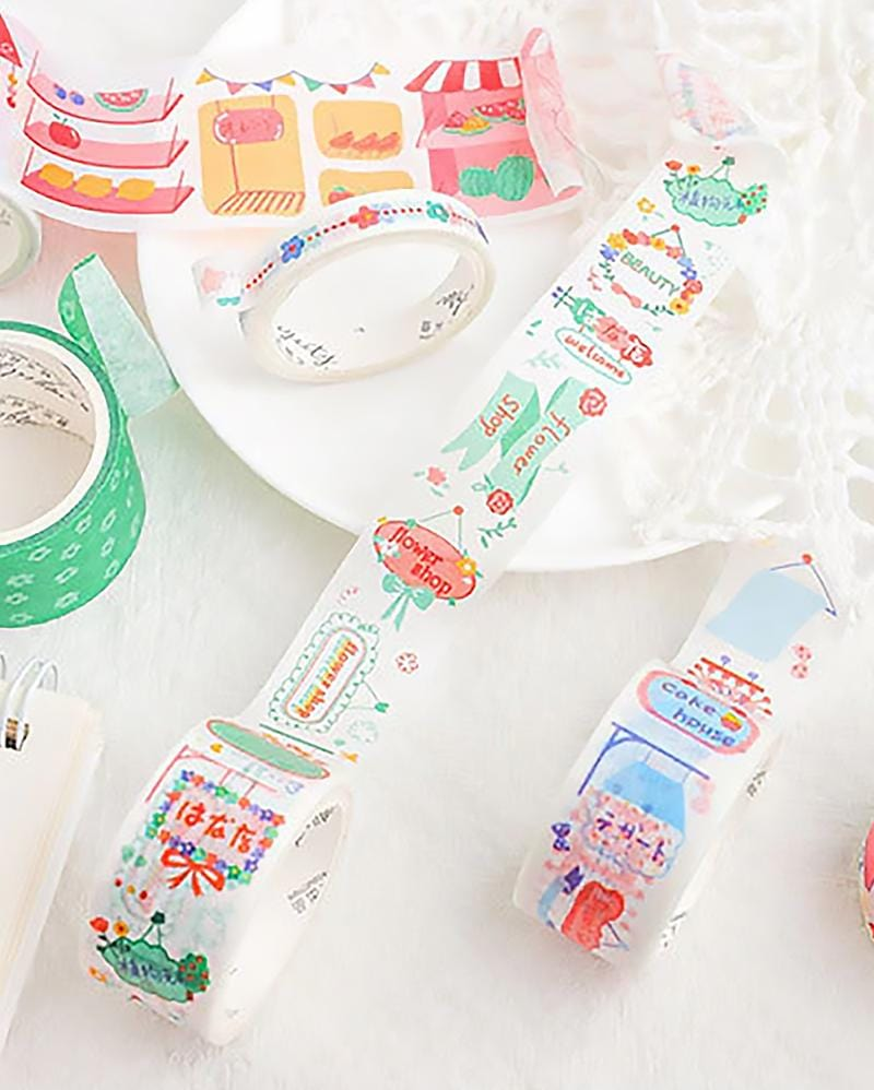 Washi Tube Set
