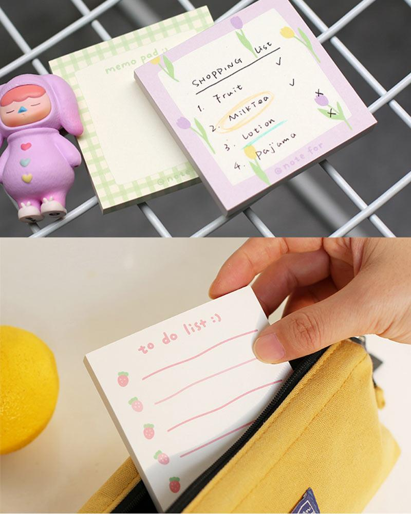 NOTE FOR Summer Fruit Notepad