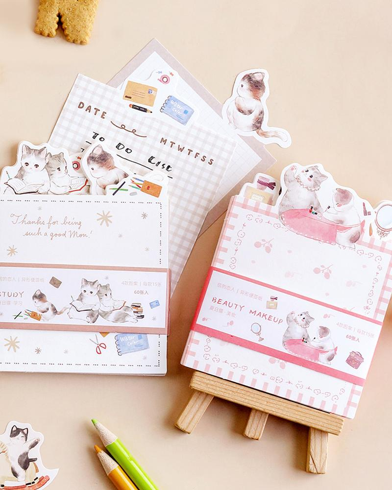 cardlover cat life sticky notes various styles and designs