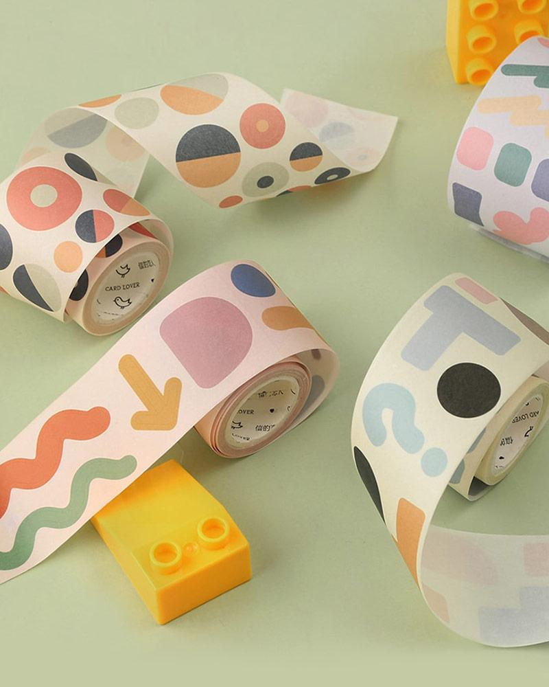 buy shop cardlover child's play washi masking seal tape stickers assorted colours styles