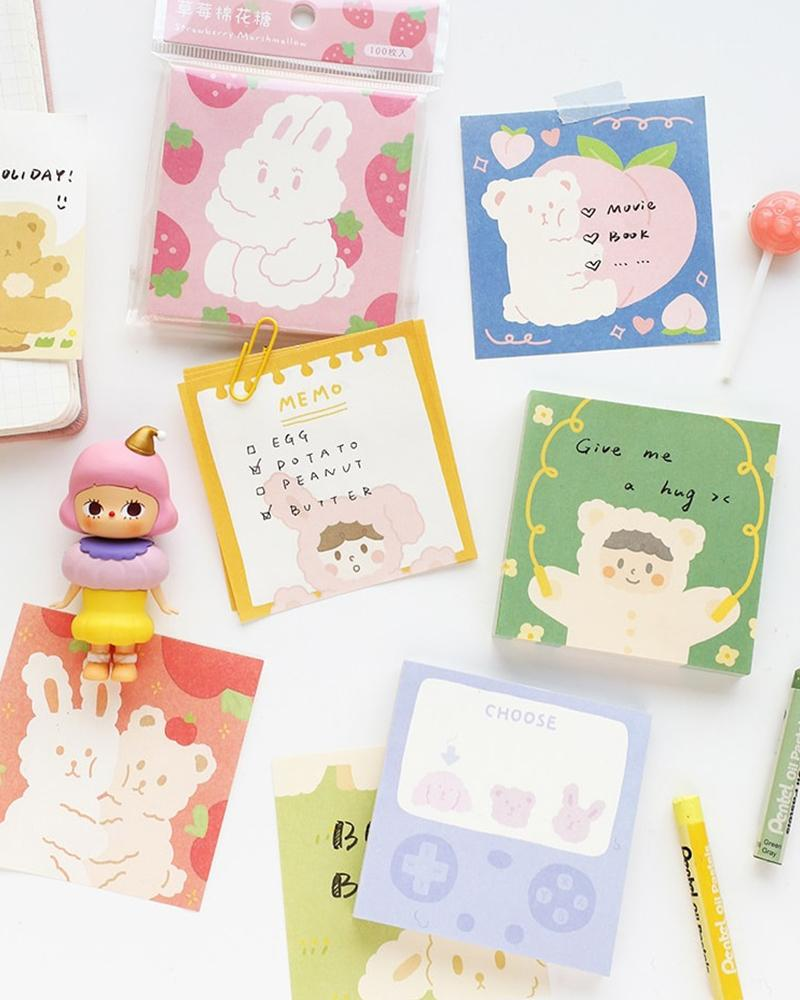 cardlover forest party volume 1 note memo pads assorted designs and styles
