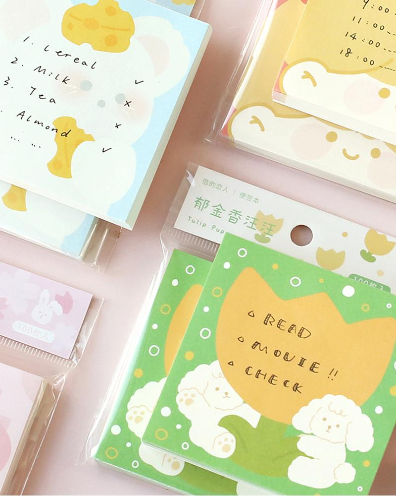 shop cardlover forest party vol. 2 assorted notepads