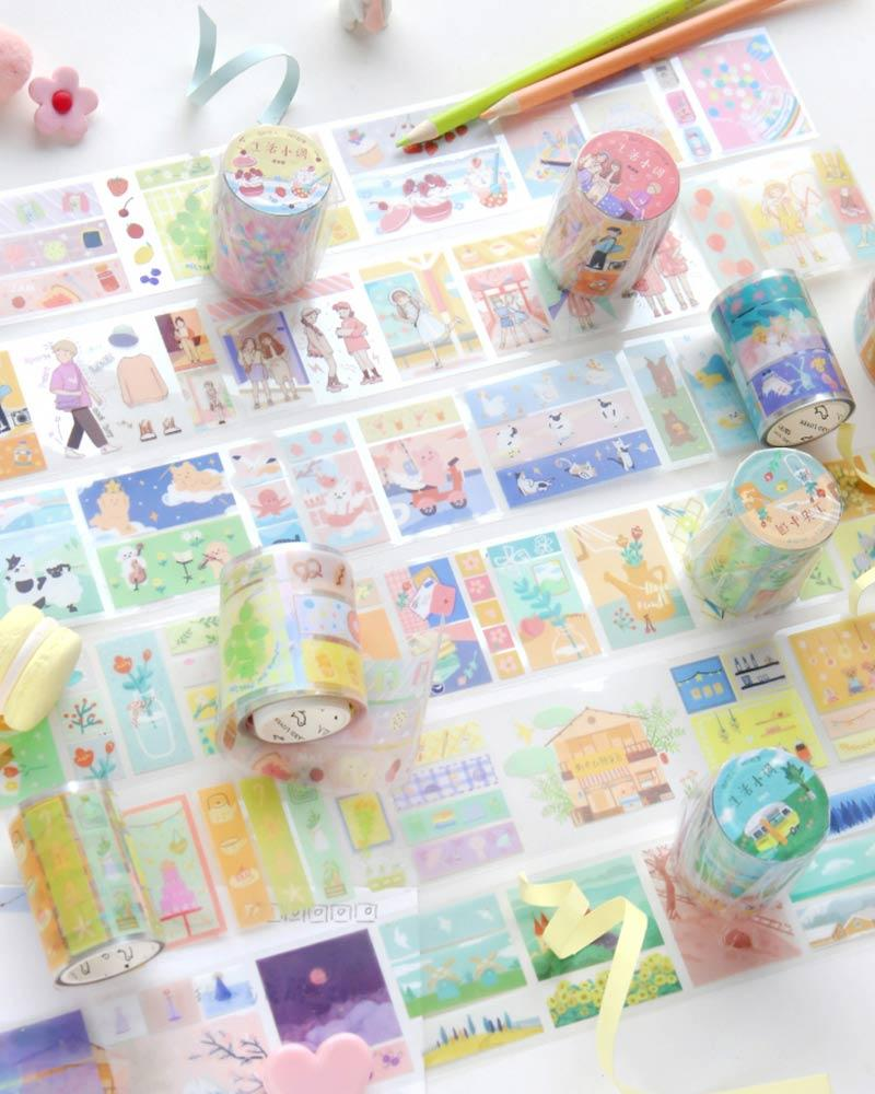 buy shop cardlover little life special material masking tape washi PET colourful assorted patterns designs
