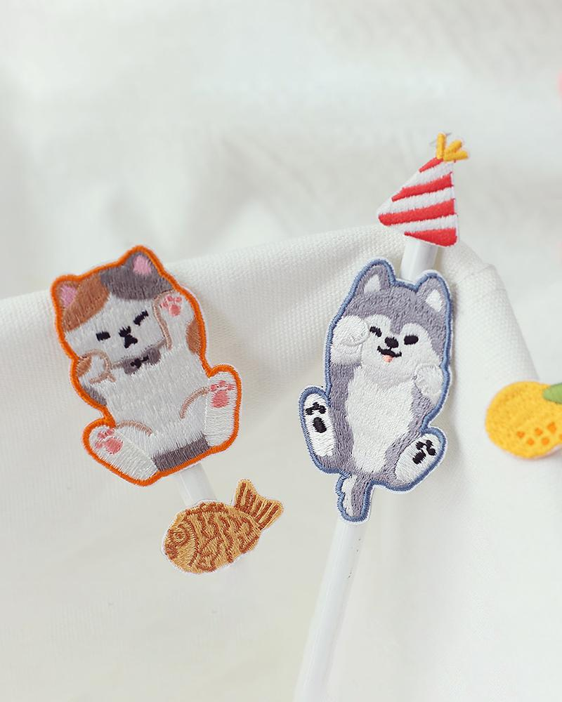 shop cardlover pets and accessories embroidered patches
