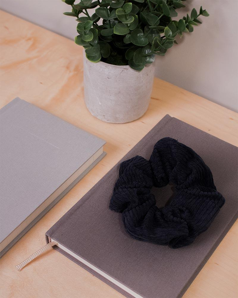 Ribbed Corduroy Scrunchie