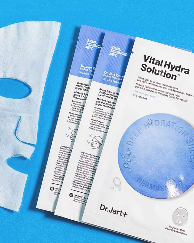 buy Dr Jart Dr.Jart+ vital hydra solution dermask mask single use deep hydration sheet product image
