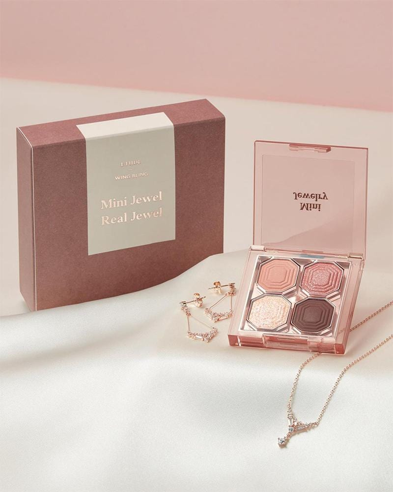Etude House x WING BLING Mini Jewel Special Set #Rosy Pendant
