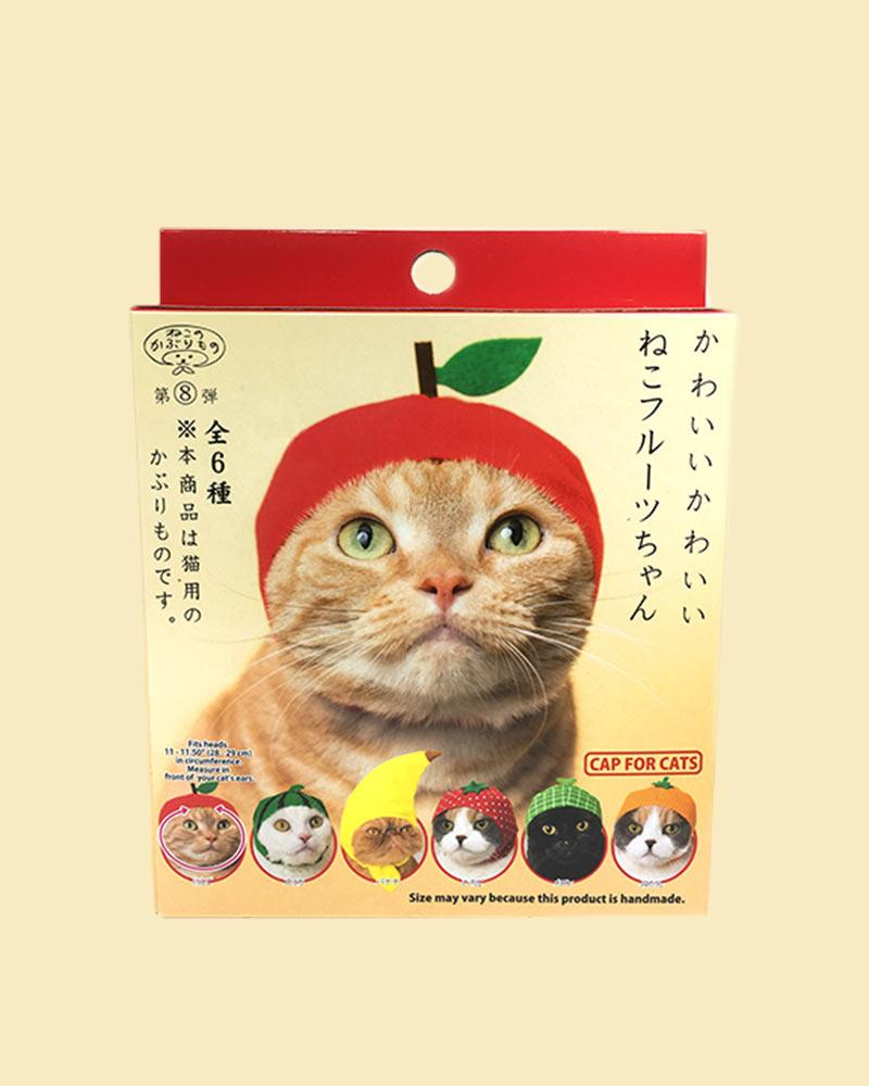 Kitan Club Cat Cap Blind Box: Fruit