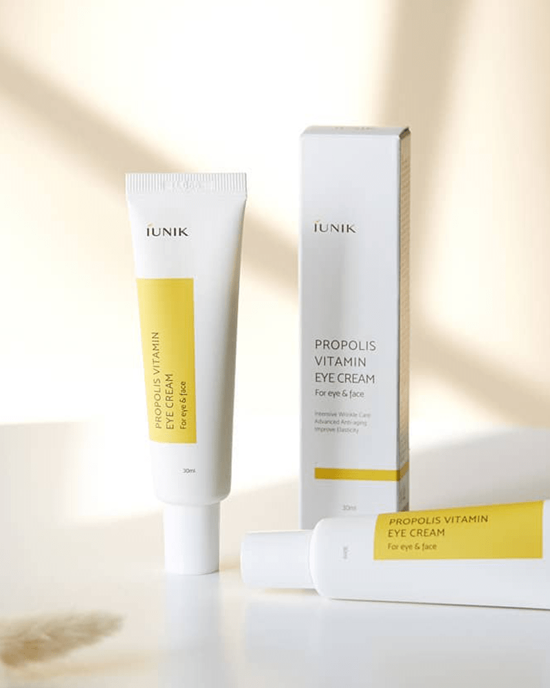 iUNIK Propolis Vitamin Eye Cream for Eye & Face