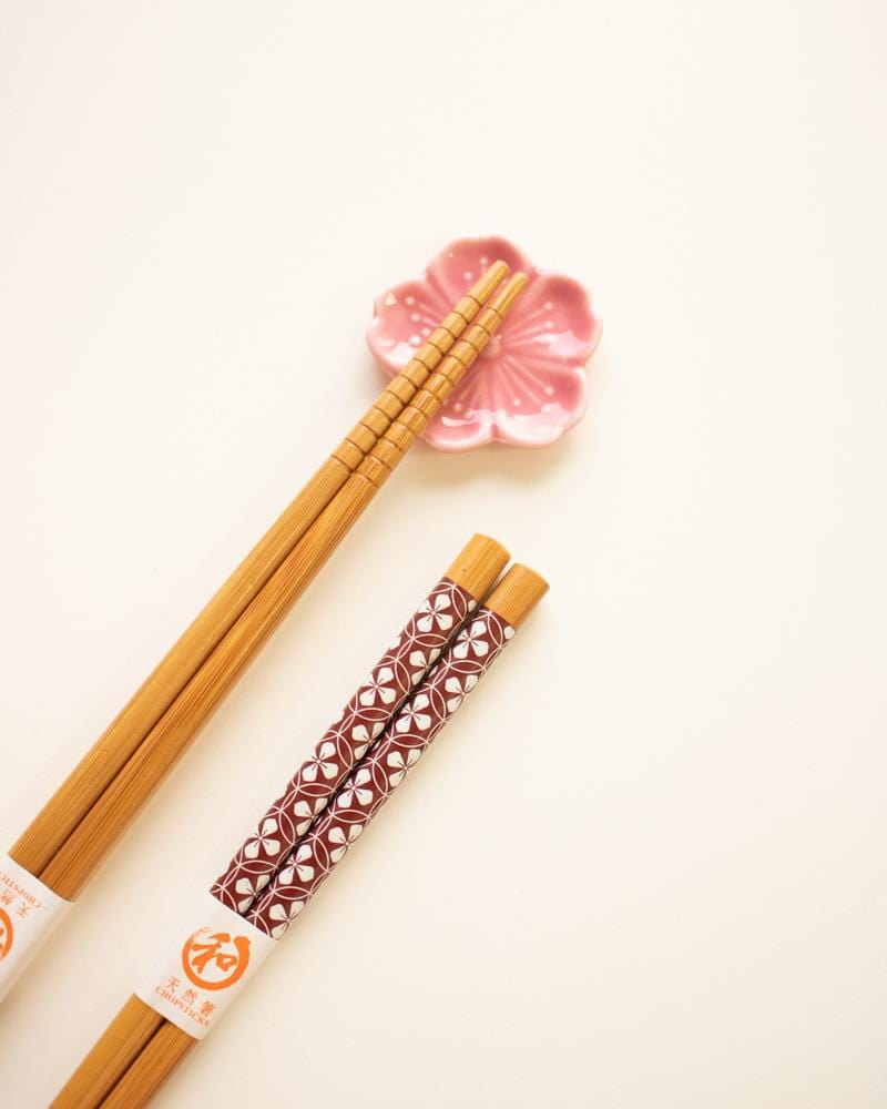 Shop Japanese Pattern Bamboo Chopsticks