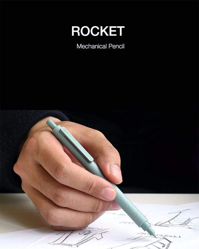 Study in style with the KACOGREEN Rocket Mechanical Pencil