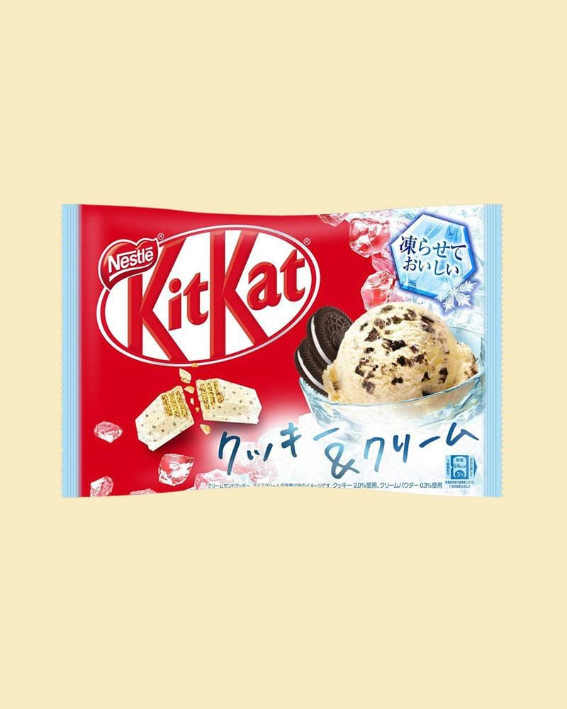 shop nestle japan's Cookies & Cream Ice Cream KitKat Bag