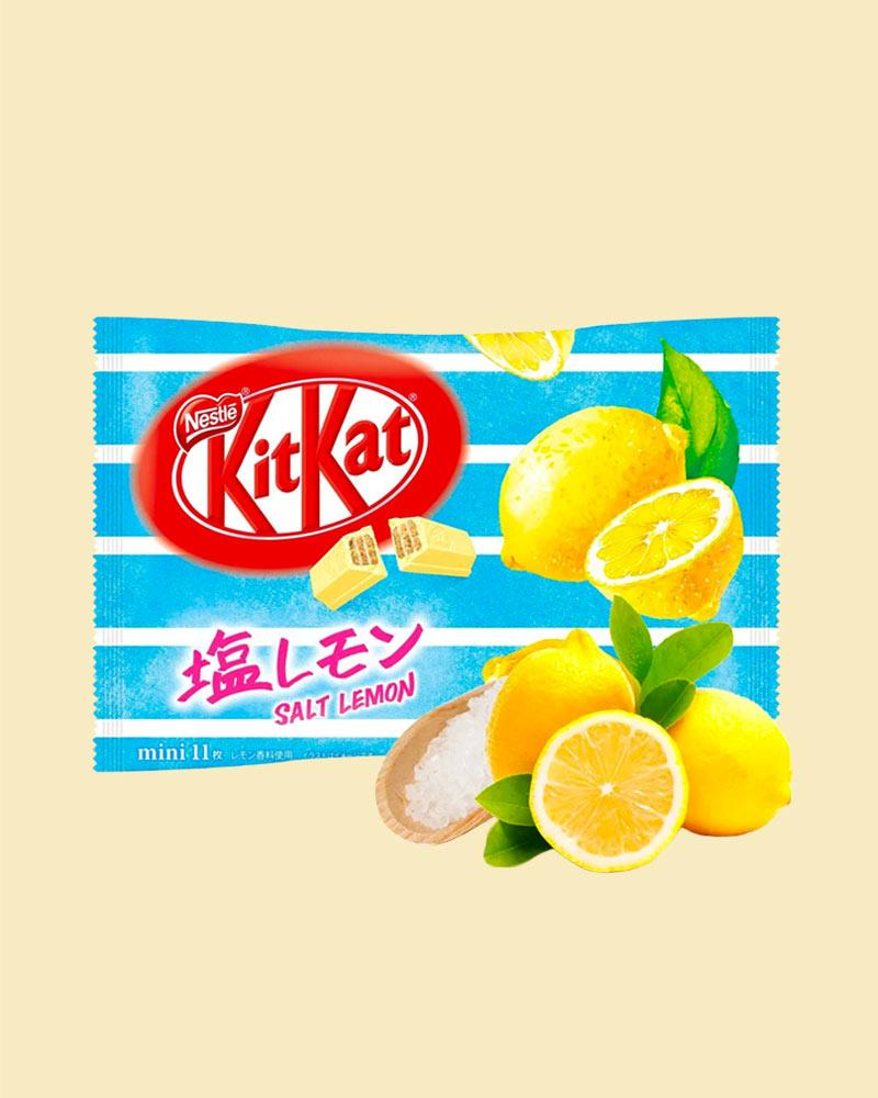 Salt Lemon KitKat Bag - Nestle Japan