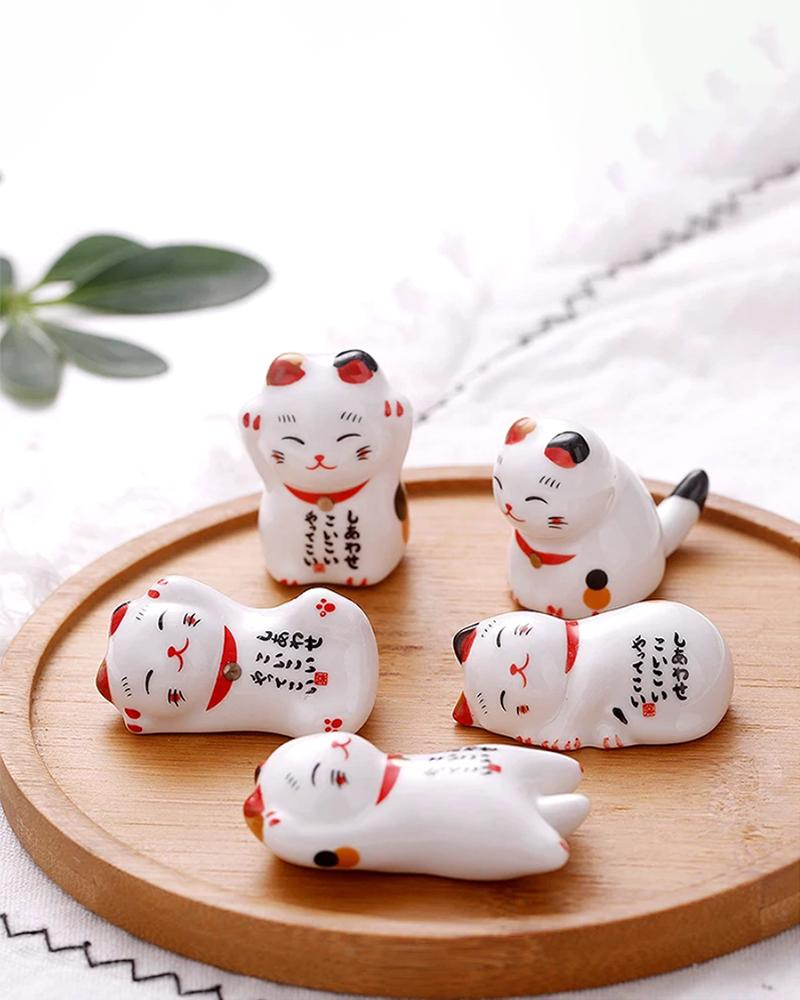 Shop Lucky Cat Chopstick Holder