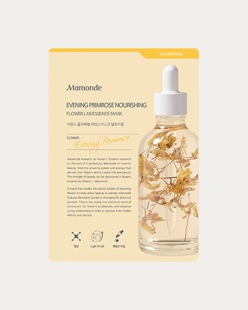 Mamonde Flower Lab Essence Sheet Mask #EVENING PRIMROSE NOURISHING