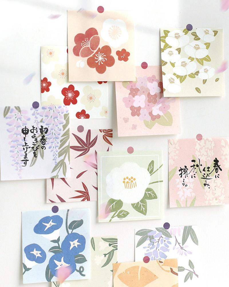 Cardlover Fancy Floral Sticky Notes
