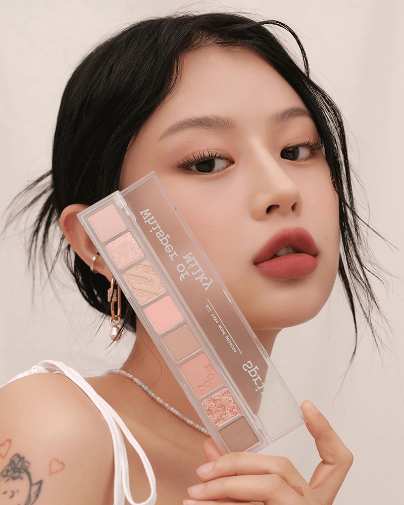 Peripera All Take Mood Palette #Whisper of Milky Spring