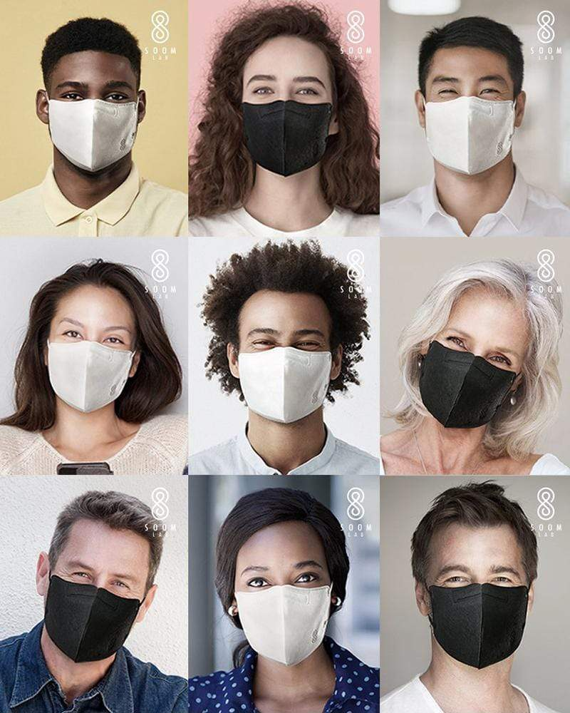 SOOMLAB Reusable Face Masks