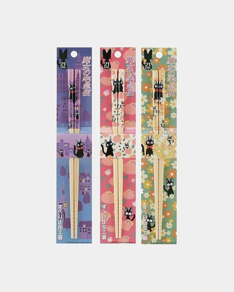 Studio Ghibli© Kiki's Delivery Service Bamboo Chopstick group photo