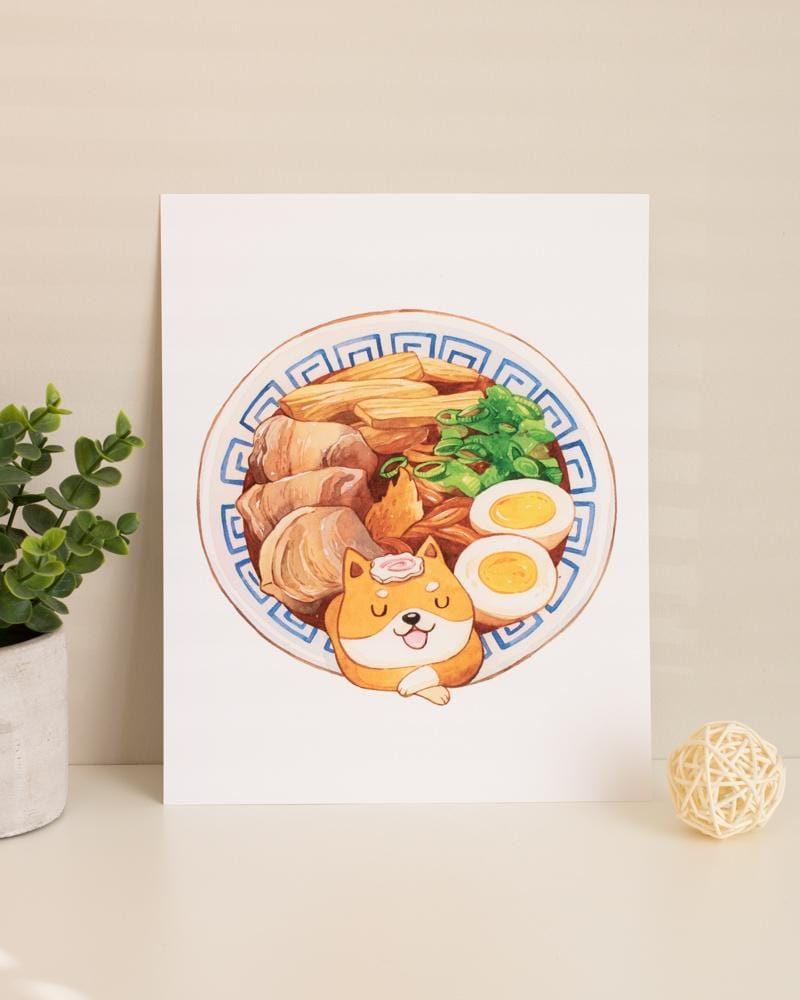 Shop SUKOSHI x PENELOPE Hot Tub Ramen Print