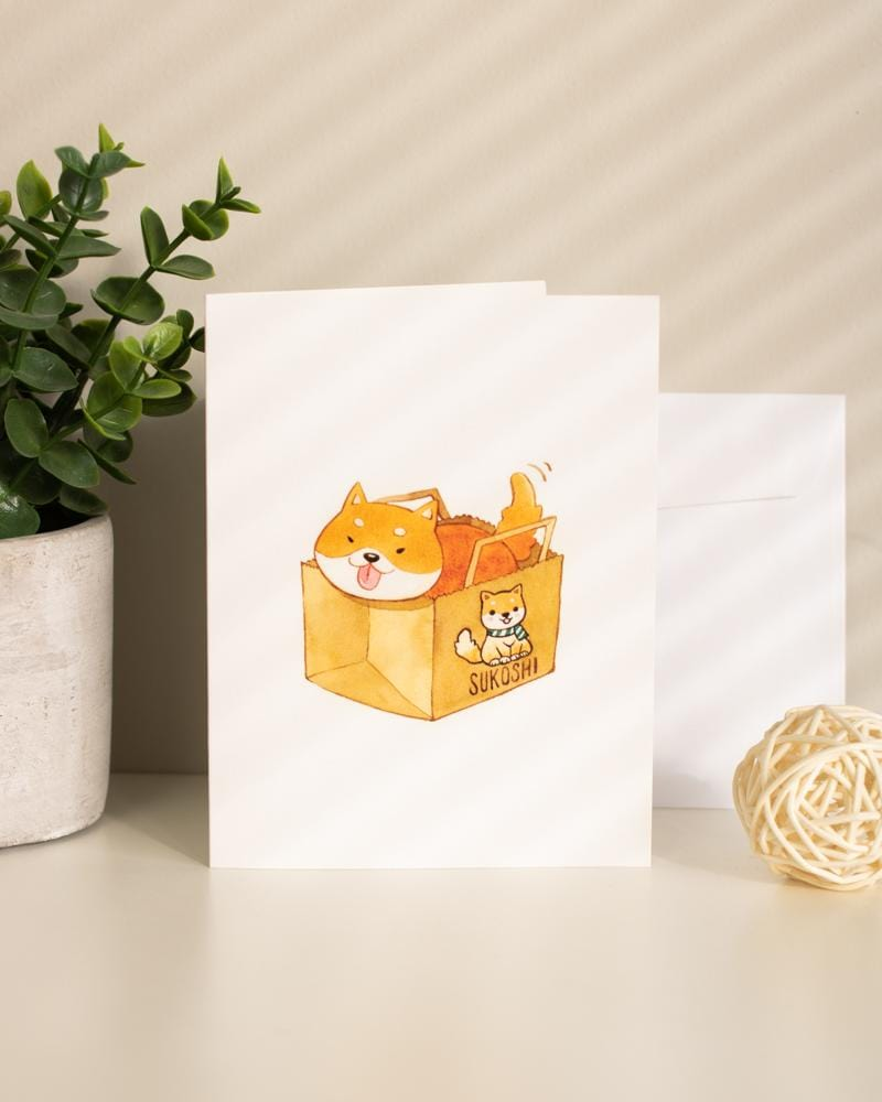 Shop SUKOSHI x PENELOPE Paper Bag Greeting Card